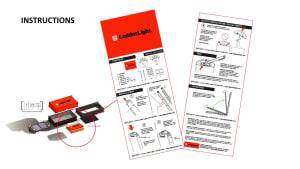 LadderLight Instructions Design