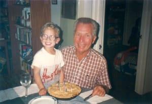 Douglas Burnette with Grandpa