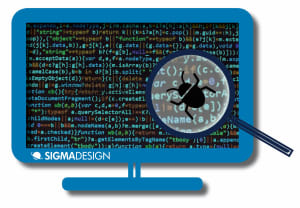 image showing a bug fixes graphic for software development