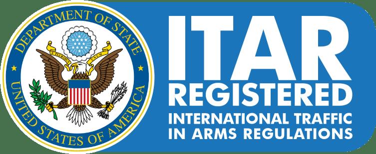 Logo for ITAR Registered