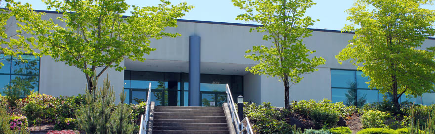 front view of pacific rim headquarters in camas, washington