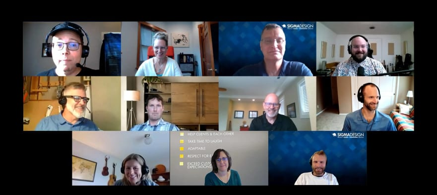 SIGMADESIGN Zoom meeting