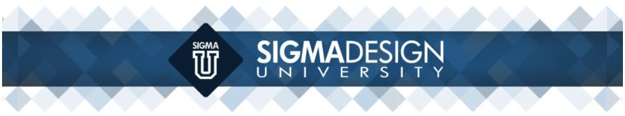 An image showing the logo for SIGMADESIGN University