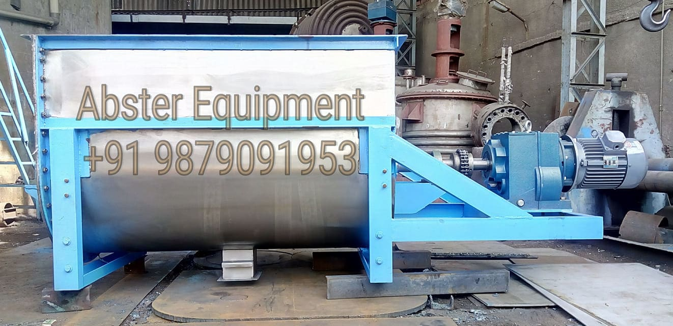 Heavy Type Horizontal Ribbon Mixer