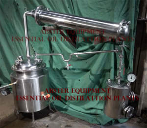 Essential Oil Distillation Plants
