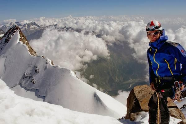 Monte Rosa, Punta Dufour 4633m