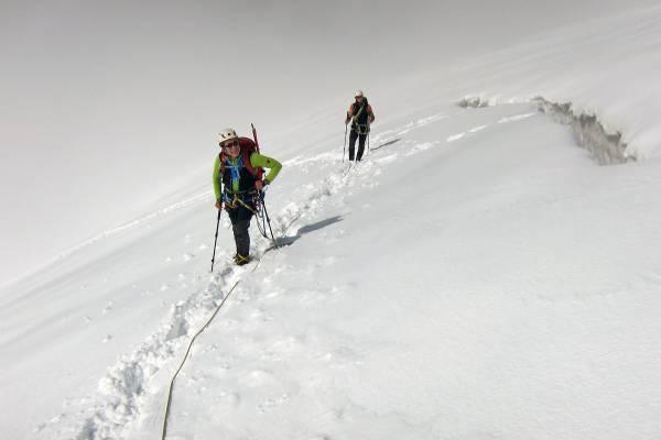 Monte Rosa, Punta Giordani 4046m