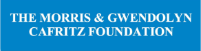 The Morris and Gwendolyn Cafritz Foundation logo