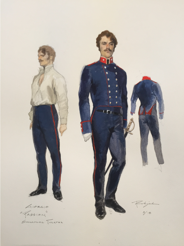 Costume Designer Robert Perdziola S Design Process Signature Theatre