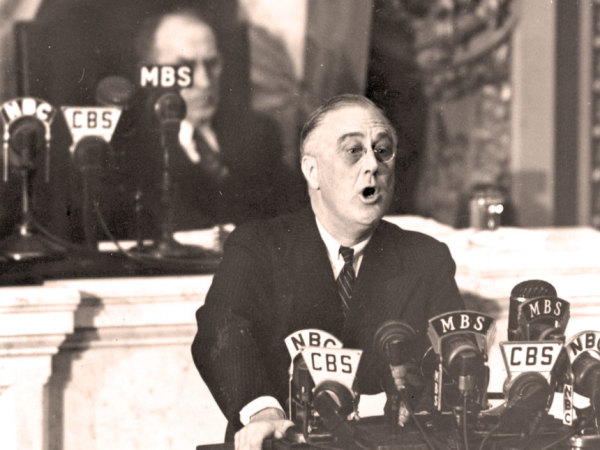 President Franklin Delano Roosevelt Delivers the State of the Union in 1941