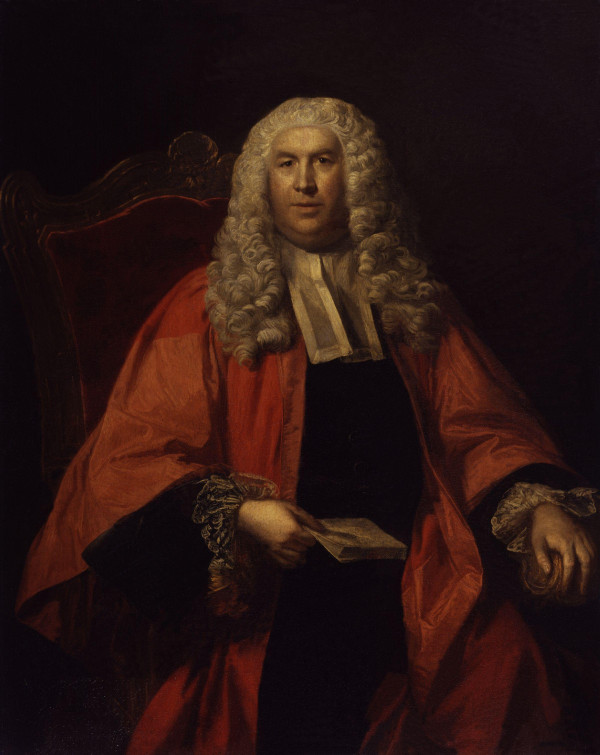 Sir William Blackstone portrait