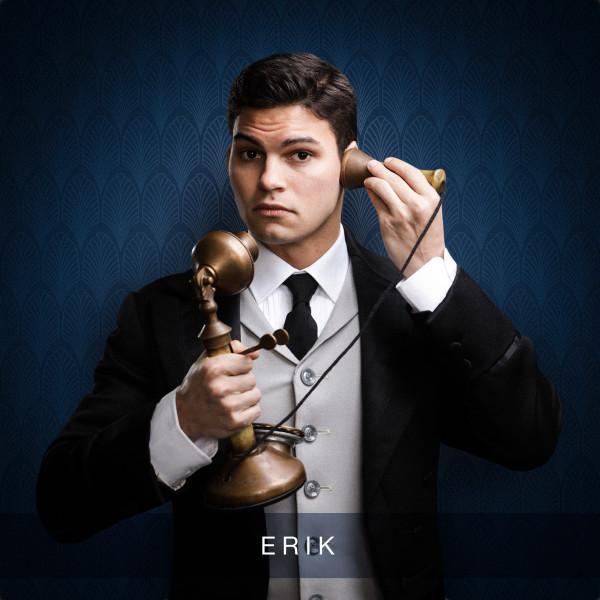 Nicholas McDonough as Erik