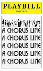 A Chorus Line original Playbill