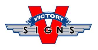 Victory Signs, Bakersfield, , CA