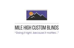 Mile High Custom Blinds