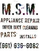 M.S.M. Appliance Repair, Bakersfield, , CA