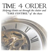 Time 4 Order - Professional Organizing and Staging