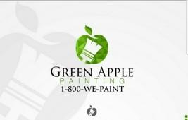 Green Apple Painting