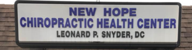 New Hope Chiropractic, New Hope, , PA