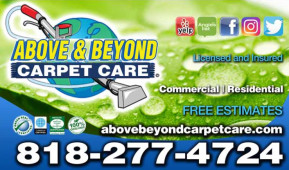 Above & Beyond Carpet Care