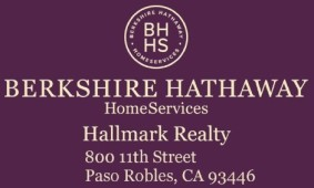 Jeff and Betty Stelzl Berkshire Hathaway Hallmark Realty, Paso Robles, , CA