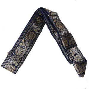 1.5 inch wide Decorative Blue Adjustable Gatra