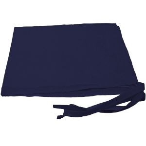 Navy Blue Patka with strings (Large)
