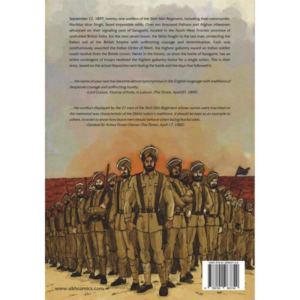 The Battle of Saragarhi Graphic Novel 4