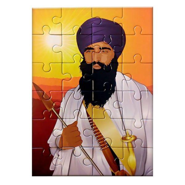 Jigsaw Puzzle – Sant Jarnail Singh Jee Khalsa Bhindranwale 2