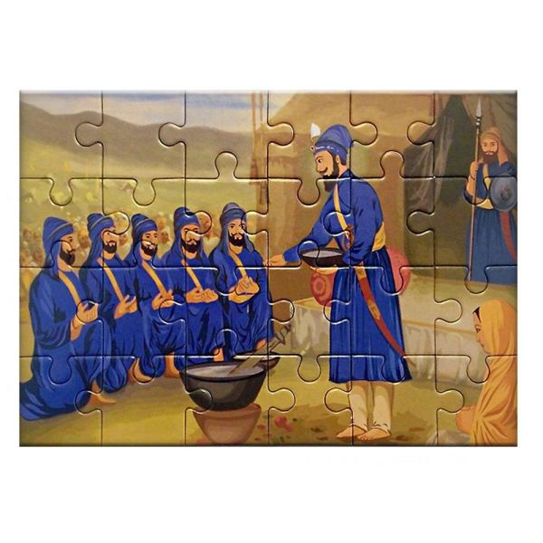 Jigsaw Puzzle – Creation of the Khalsa 2