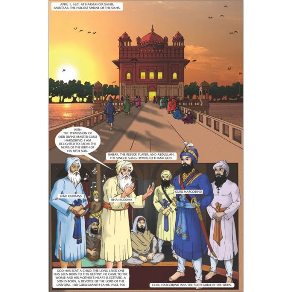 Guru Tegh Bahadhur Jee Graphic Novel 2