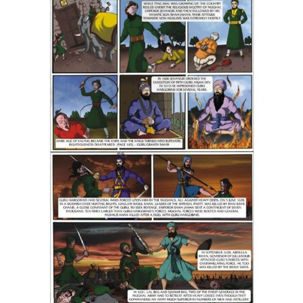 Guru Tegh Bahadhur Jee Graphic Novel 3