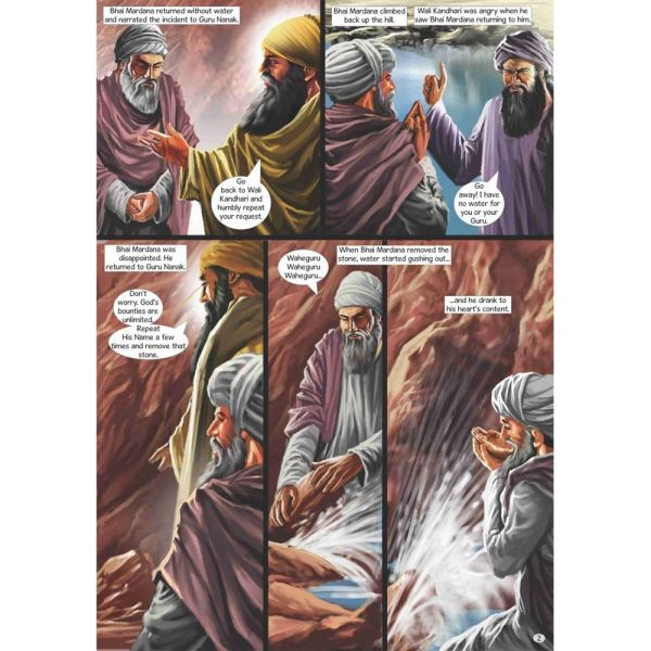 Guru Nanak Dev Jee Graphic Novel Volume 5 3