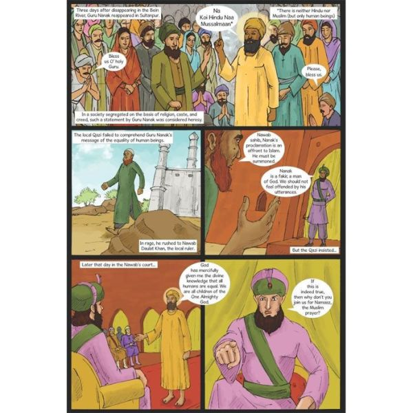 Guru Nanak Dev Jee Graphic Novel Volume 2 4