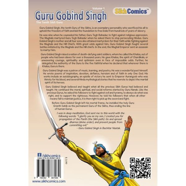 Guru Gobind Singh Jee Graphic Novel Volume 1 2