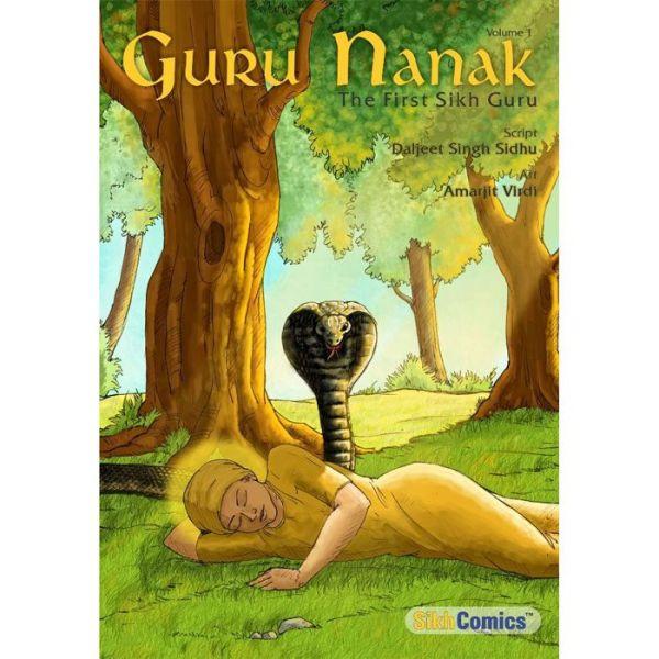 Guru Nanak Dev Jee Graphic Novel Volume 1 1