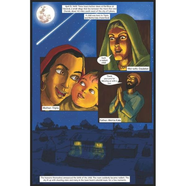 Guru Nanak Dev Jee Graphic Novel Volume 1 3