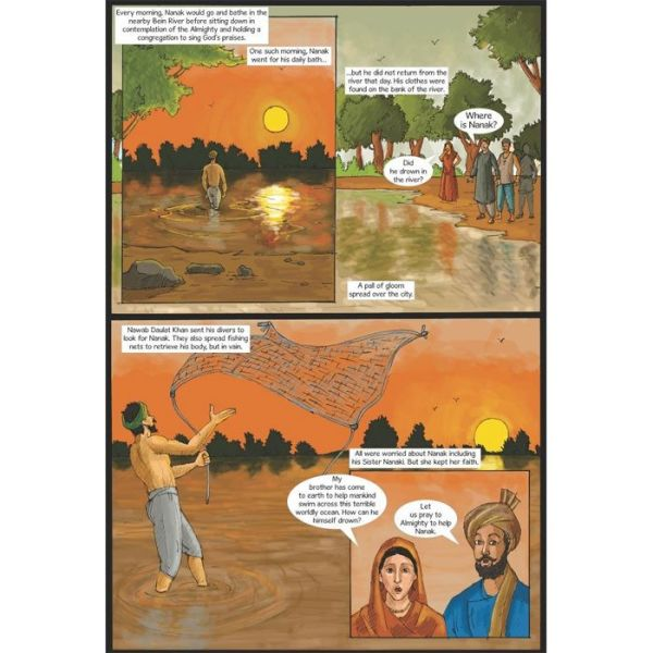 Guru Nanak Dev Jee Graphic Novel Volume 1 4