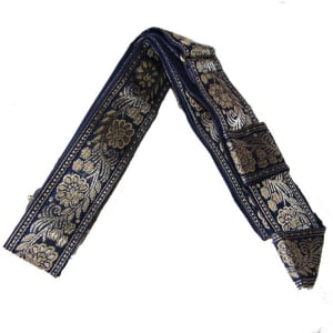 1.5 inch wide Decorative Blue Adjustable Gatra