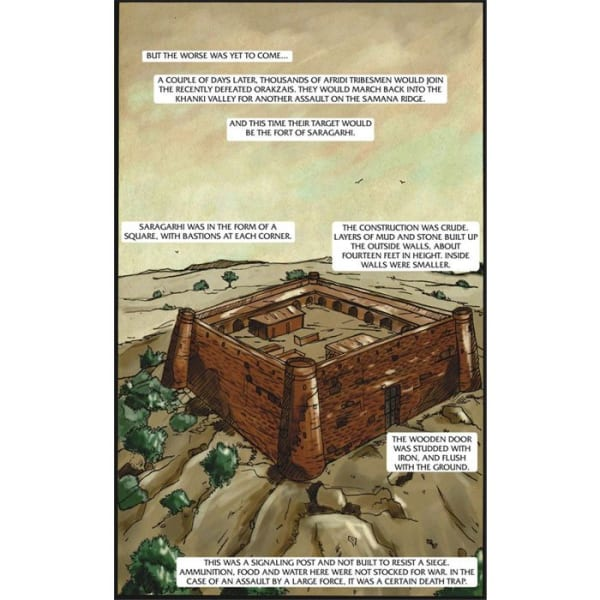 The Battle of Saragarhi Graphic Novel 3