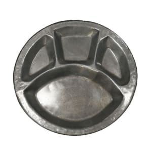 Sarbloh Thaal with 4 compartments