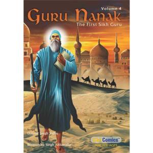 Guru Nanak Dev Jee Graphic Novel Volume 4