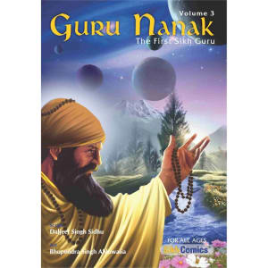 Guru Nanak Dev Jee Graphic Novel Volume 3