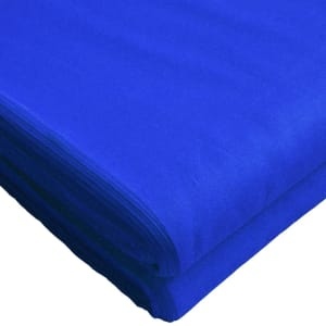 Full Voile Blue Dastar (Turban)