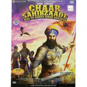 Chaar Sahibzaade 2 - Rise of Banda Singh Bahadur (2016) DVD