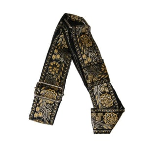1.5 inch wide Decorative Black Adjustable Gatra