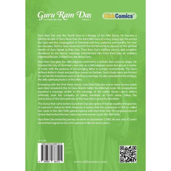 Guru Ram Das Ji Volume 1