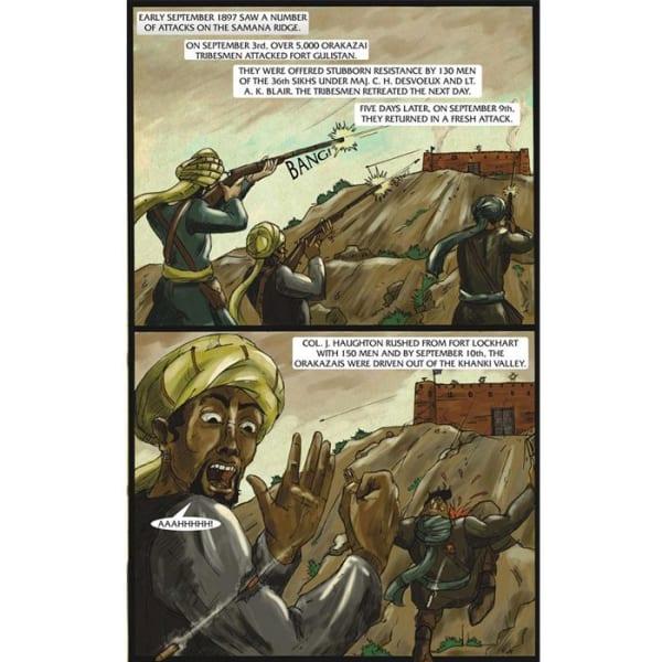 The Battle of Saragarhi Graphic Novel 2