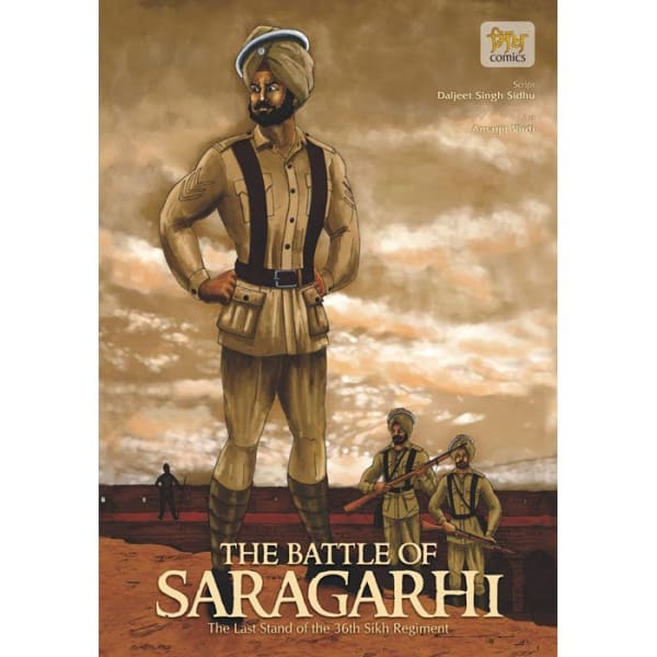 The Battle of Saragarhi Graphic Novel 1