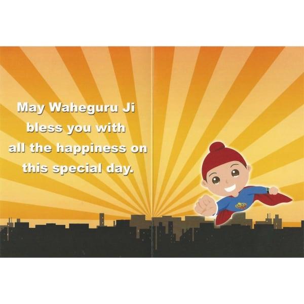 Happy Birthday Card – Super Singh 2